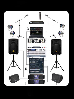 PA Sound System Hire